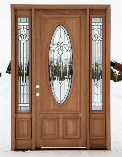 exterior entry doors  sidelights