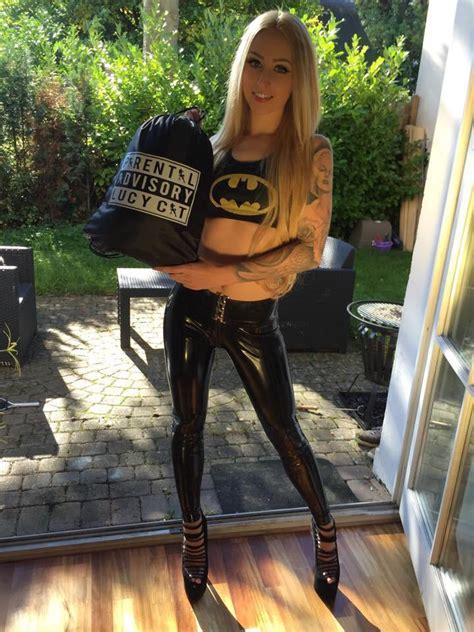 tw pornstars lucy cat twitter sportbag latex rubber