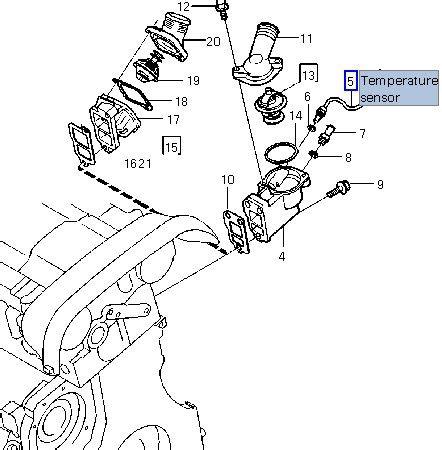 Volvo Xc90 Engine Coolant Diagram by P0128 Engine Coolant Temperture Sensor Location 2001 S60