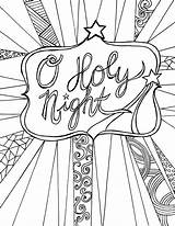 Coloring Christmas Pages Adults Candle sketch template