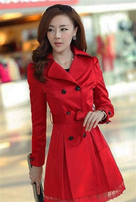 Long Red Coats For Women | www.imgkid.com - The Image Kid ...