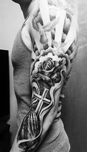 Tatouage Bras Complet Homme : id e tatouage homme 20 motifs tendance r cup r s sur ~ Dallasstarsshop.com Idées de Décoration