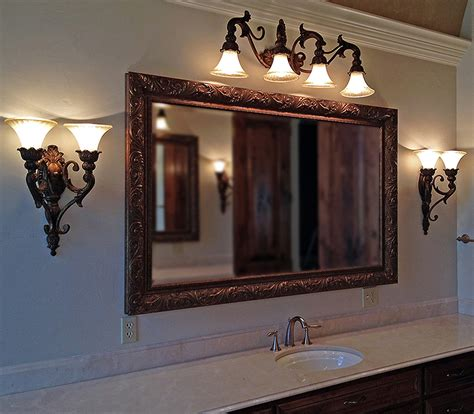 Bathroom Mirrors Wood Frame