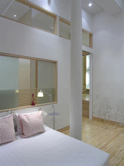 minimalist guest bedroom  white column hgtv