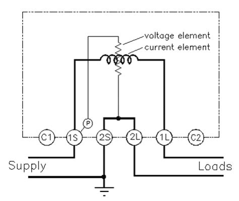 energy meter circuit diagram readingrat net in wiring
