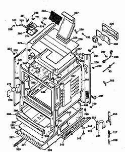 Ge Model Jgbp79bew1bb Free Standing  Gas Genuine Parts