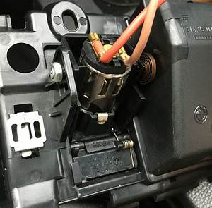 Beemer Lab  E60  Front 12v Socket Spring Mechanism Assembly