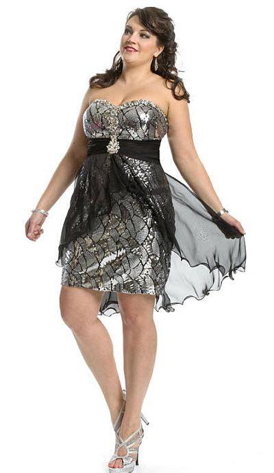 Cheap Plus Size Cocktail Party Dresses 09