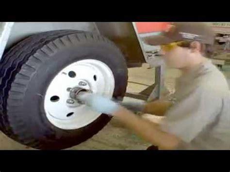 U-Haul Torsion Axle Inspection - YouTube