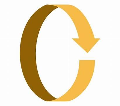 Arrow Arrows Round Turn Vector Clipart Circle