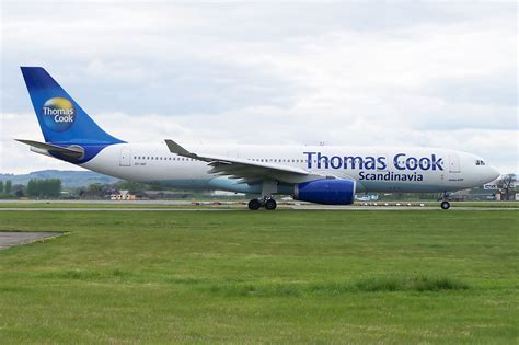 Thomas Cook Airbus A-330-200 over Atlantic on Aug 5th 2013 ...