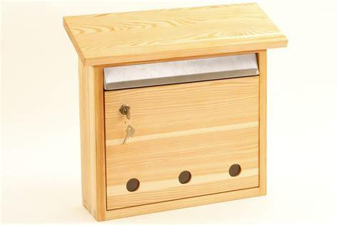 Briefkasten Lärchenholz  Nachhaltiges aus sozialen