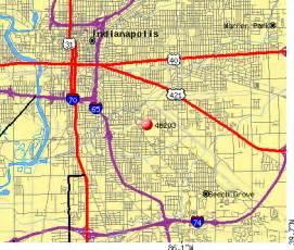 Zip Code Map Indianapolis Indiana