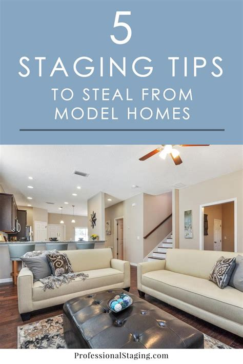 Decorating Ideas To Sell Your House by 5 Home Staging Tips To From Model Homes Blogs