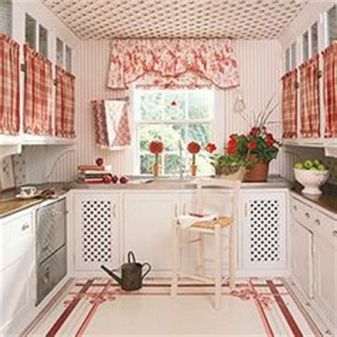 cottage kitchen wallpaper 1000 images about conserve w cabinet curtains on 2662
