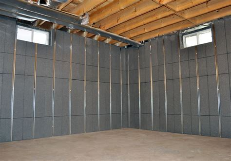 Basement To Beautiful? Insulated Wall Panels & Studs