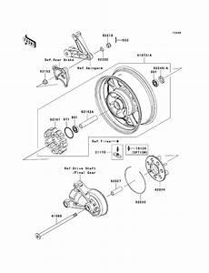 Harley Davidson Rear Axle Diagram