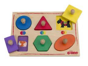 Toddler Wooden Puzzles Shapes