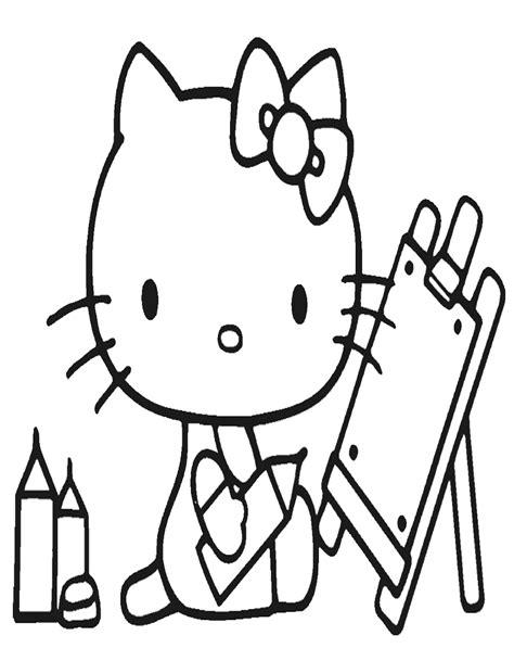 disegni da colorare di hello da stare gratis disegno di hello da colorare