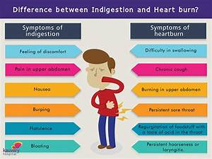 What Is The Difference Between Indigestion And Heart Burn