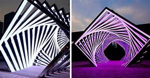 Pop Chart Lab Accumulation A Dramatic Concentric Tunnel Of Light