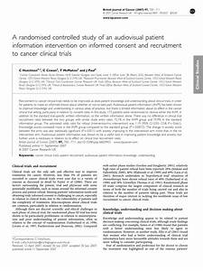 Pdf  A Randomised Controlled Study Of An Audiovisual