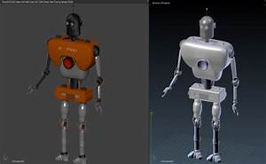 Simple Robot - 3d model - .obj, .dae, .blend, .mtl