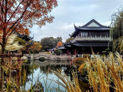 Chinesischer Garten Im Luisenpark In Mannheim
