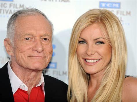 Hugh Hefner's wife-to-be Crystal Harris won't sign ...