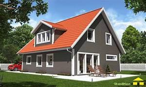 Holzrahmenbau Selber Bauen : skandihaus haustyp 148 schwedenhaus skandihaus das holzhaus aus schweden ~ Whattoseeinmadrid.com Haus und Dekorationen