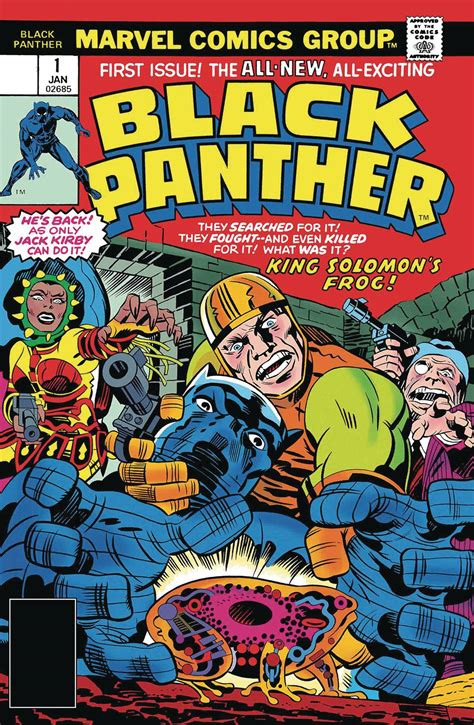 Anyone Comics - True Believers Kirby 100th Black Panther #1