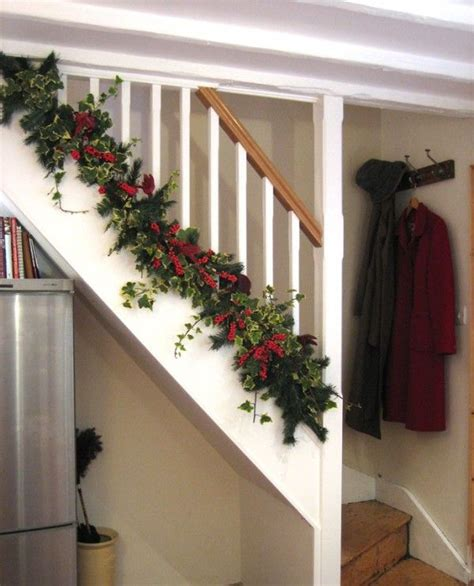 Garland For Stair Banister by Garland For Stairs