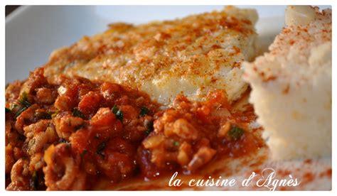 cuisiner un filet de julienne filet de julienne sauce crevette et tomate la cuisine d