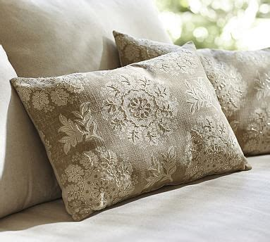 Spiral Beaded Pillow Cover Pottery Barn by Serra Beaded Lumbar Pillow Pottery Barn
