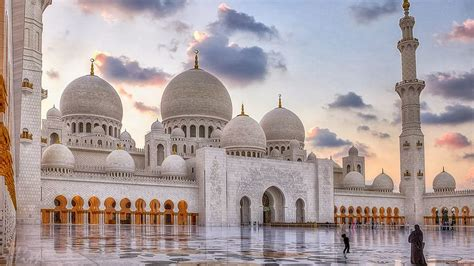 Abu Dhabi Mosque Wallpaper by United Arab Emirates Sheikh Zayed Mosque In Abu Dhabi