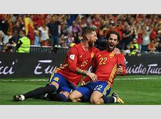 España vs Italia Isco lía la Mundial