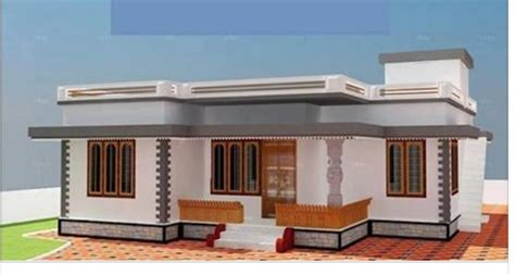 7 Lakh Home Design : Low Cost Budget Home Design Below 7 Lakhs