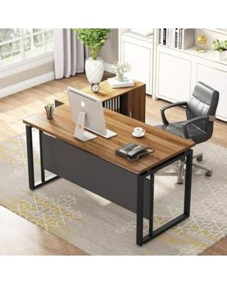 L Table With Storage by Deal On Large Computer Desk And File Cabinet