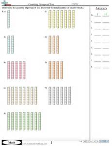 counting tens and ones worksheets counting worksheets