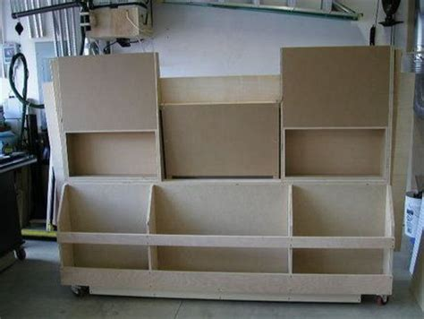 panel cutting lumber cart plans woodworking projects plans