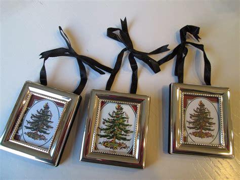 Roommom27 Spode Christmas Tree Ornaments