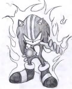 Darkspine Dark Sonic Drawings
