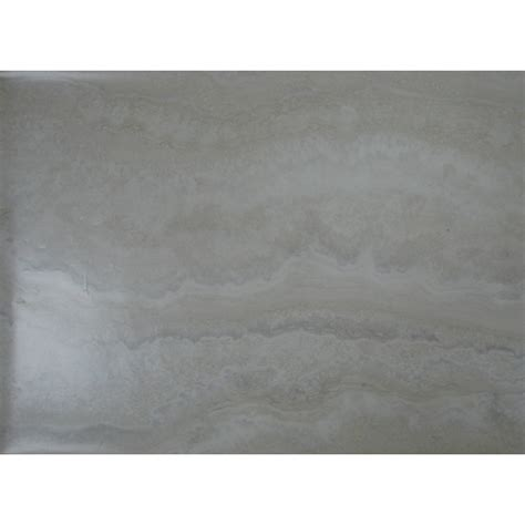 shop style selections 12 in x 24 in oyster travertine