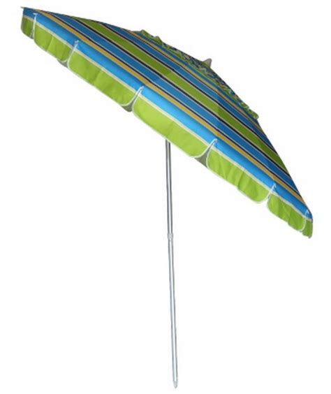 new 8 big green blue stripes umbrella patio tilt