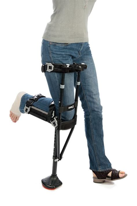 crutch iwalk hands knee crutches walking aid mobility walker foot wheels braces amazon canes tendon platform medical pain acl need