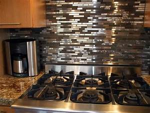 Installing stainless steel tile backsplash cabinet for Stainless steel tile backsplash installation