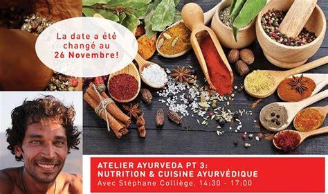cuisine ayurvedique atelier de cuisine ayurvédique composez votre assiette santé madame bien être