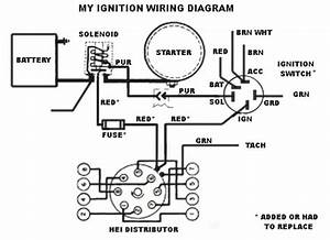 Chevy hei distributor wiring diagram fuse box and wiring for Hei wiring diagram distributor