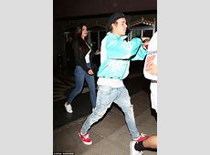 Justin Bieber makes a statement in 'Fear of God' jacket