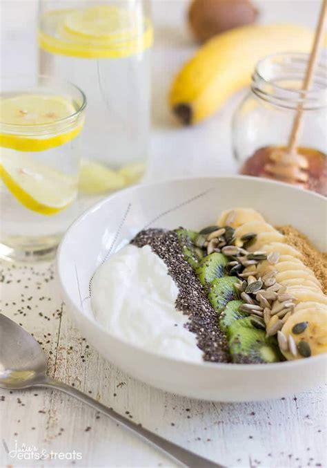 super healthy breakfast bowl julies eats treats